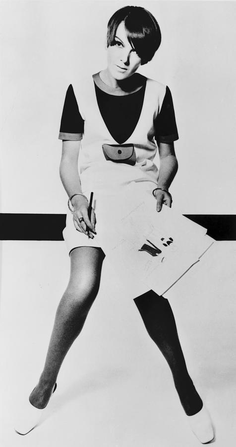 Mary Quant, British Mod Fashion Photograph