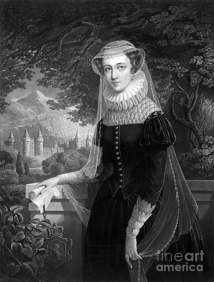 Mary Queen Of Scots Photograph