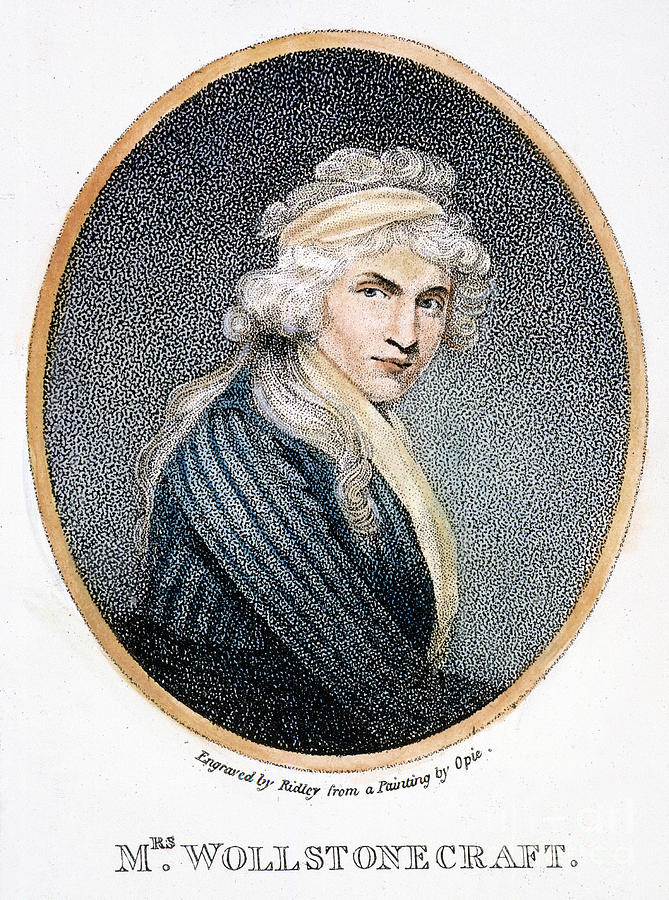 Mary W. Godwin (1759-1797) Photograph