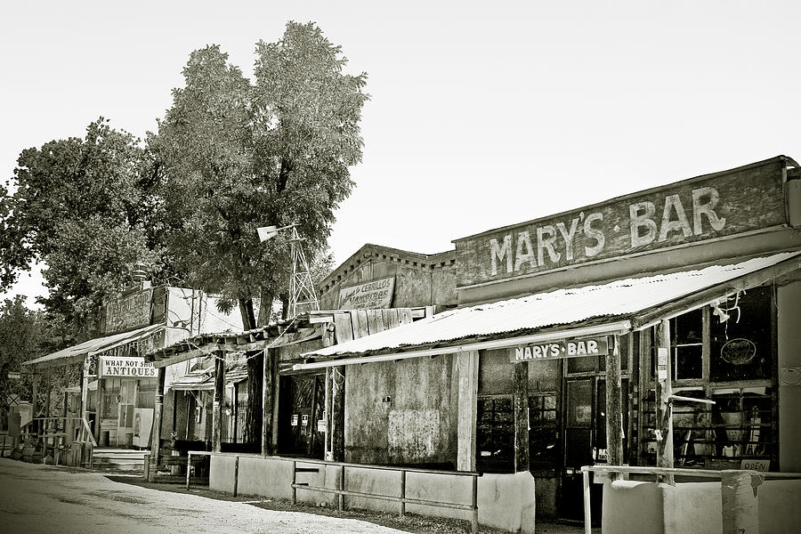 Marys Bar Cerrillo Nm Photograph  - Marys Bar Cerrillo Nm Fine Art Print