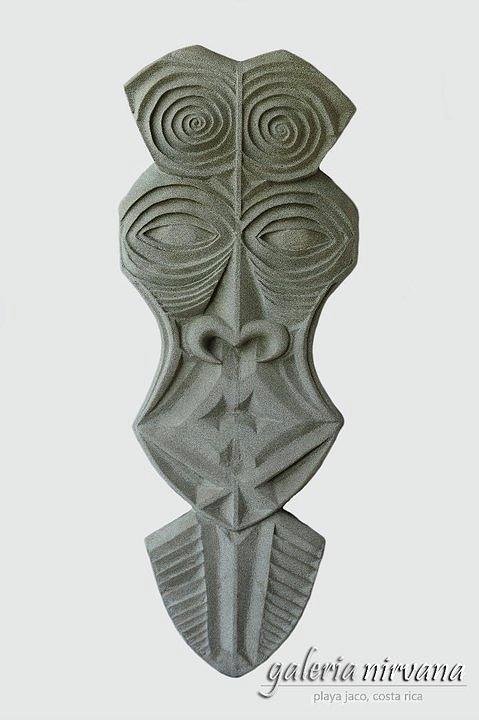 Mask 1 2006 Sculpture  - Mask 1 2006 Fine Art Print