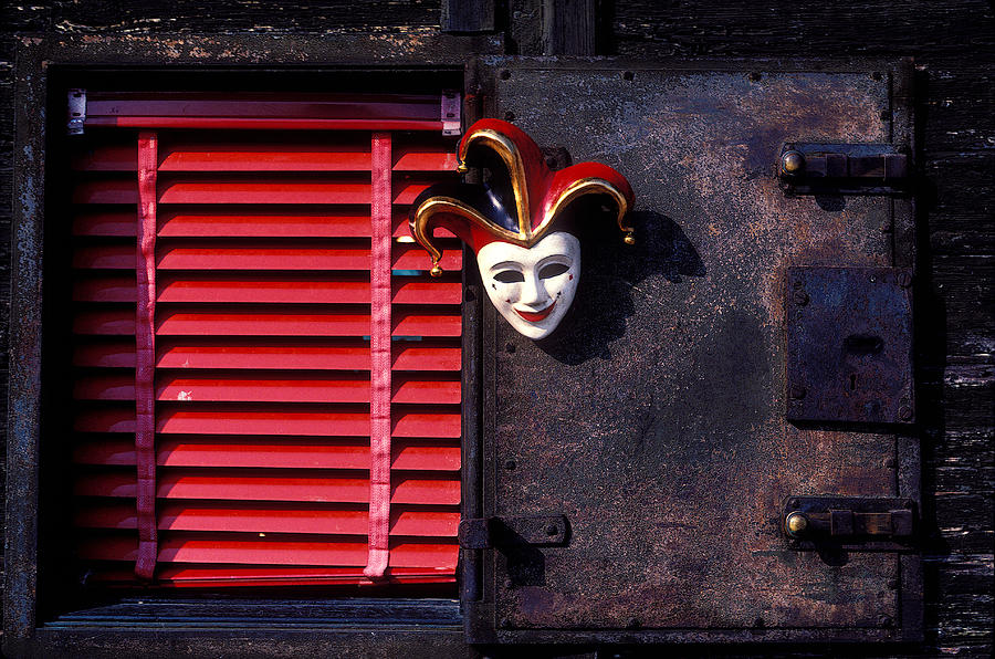 Mask By Window Photograph  - Mask By Window Fine Art Print