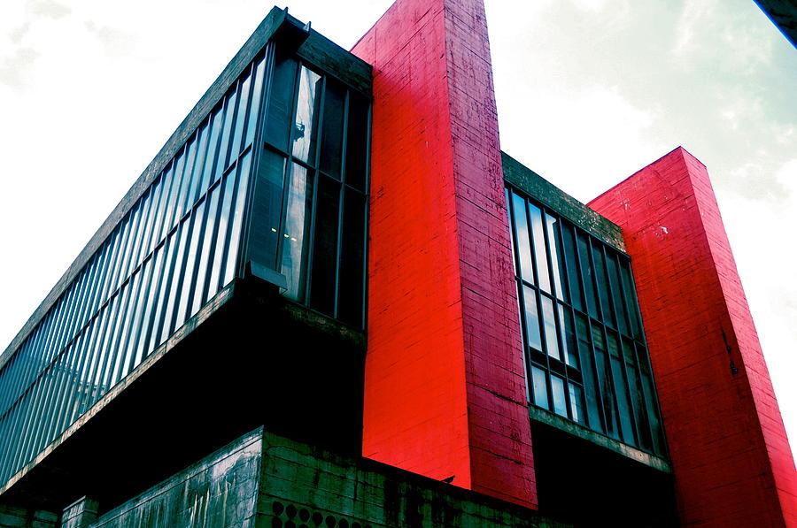 - Museu De Arte De S�o Paulo- Art Museum Of Sao Paulo Photograph - Masp Envergonhado  by Tralheria Paralela