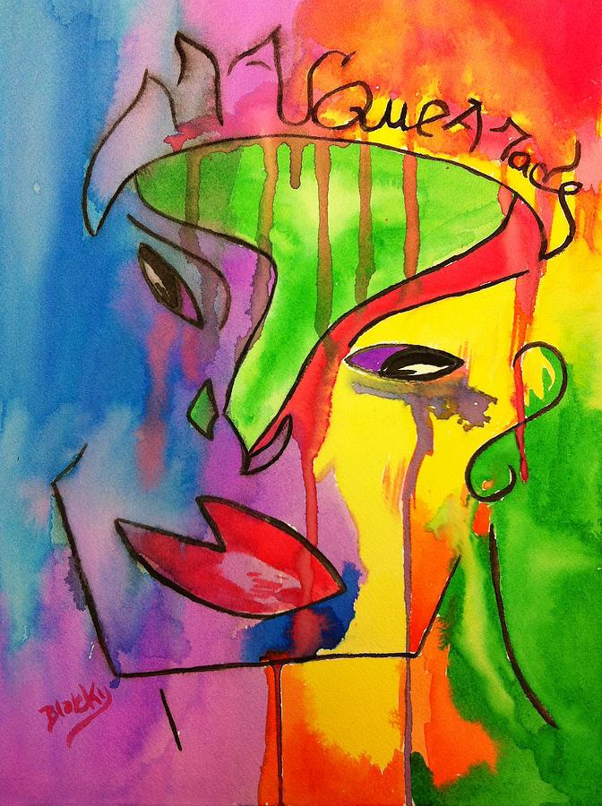 Masquerade Painting
