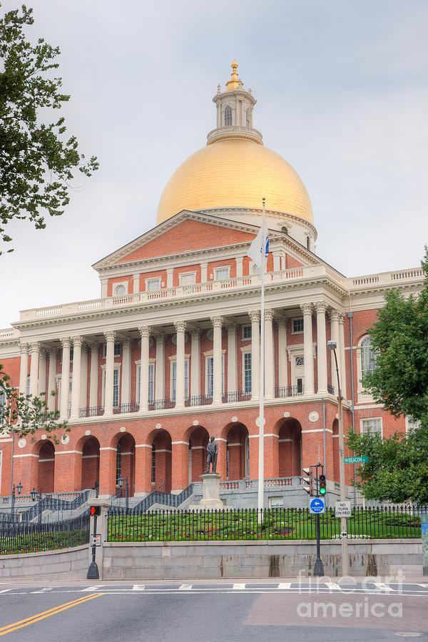Massachusetts State House I Photograph  - Massachusetts State House I Fine Art Print