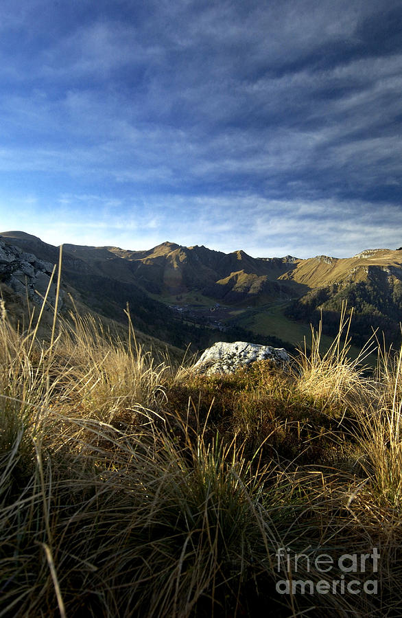 Auvergne Photograph - Massif Of Sancy In Auvergne. France by Bernard Jaubert