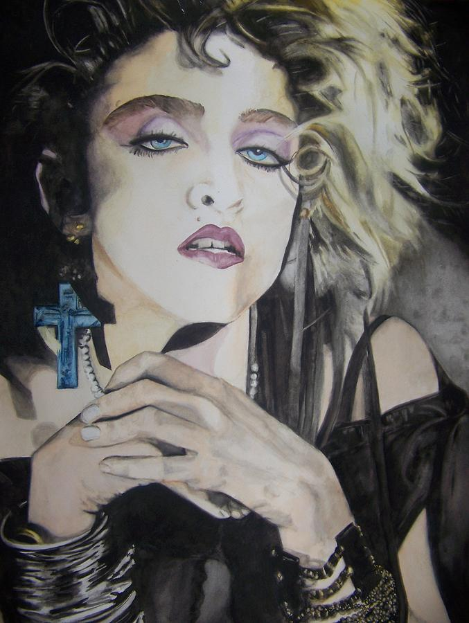 Material Girl Painting