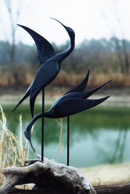 Mating Dance Sculpture