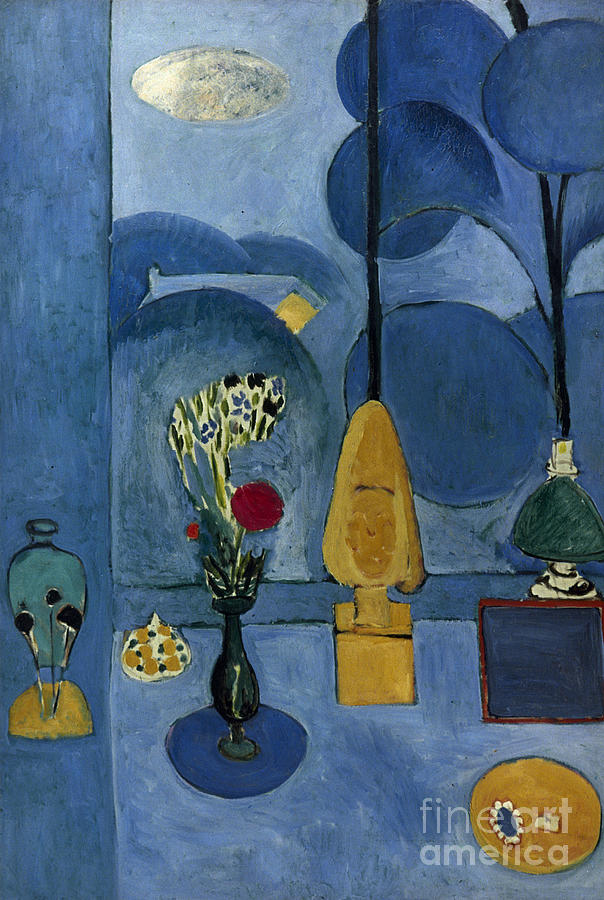Matisse: Blue Window, 1913 Photograph