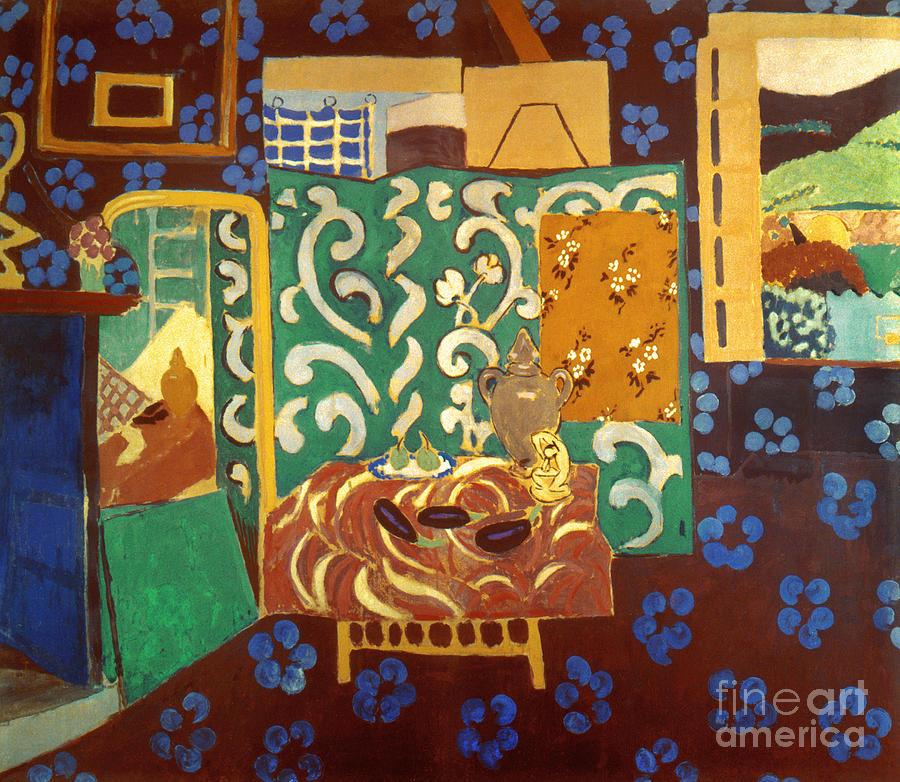 Matisse: Interior, 1911 Photograph