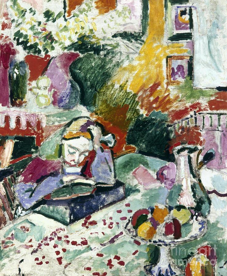 Matisse: La Lecture, 1905 Photograph