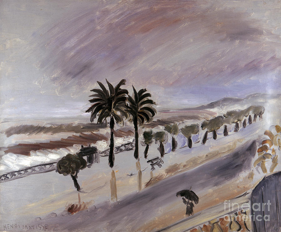 Matisse: Storm In Nice Photograph