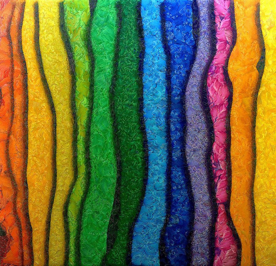 Abstract Digital Art Digital Art - Matiz by RochVanh