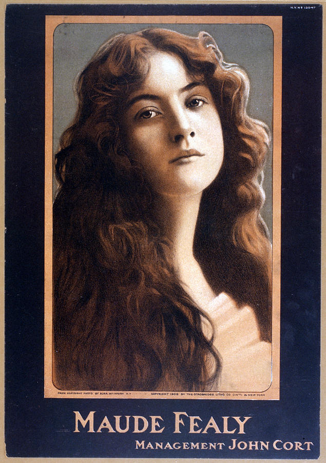 1900s Photograph - Maude Fealy 1881-1971, American by Everett