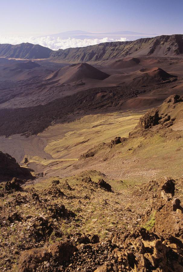 Maui, Haleakala Crater Photograph