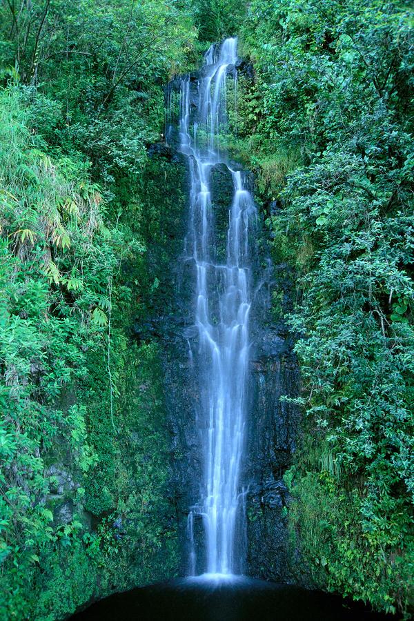 Maui Waterfall Photograph