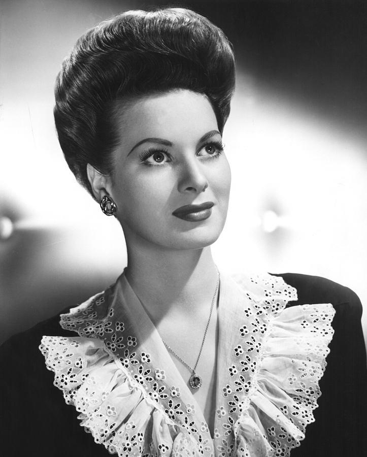 Maureen Ohara, Rko, 1943 Photograph