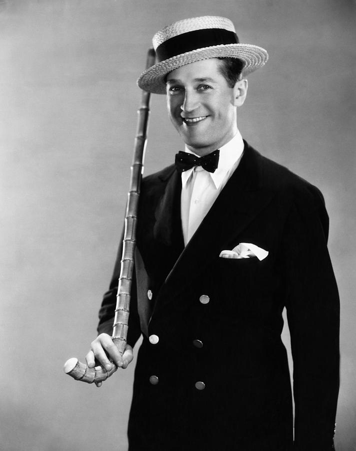 Maurice Chevalier, 1930 Photograph