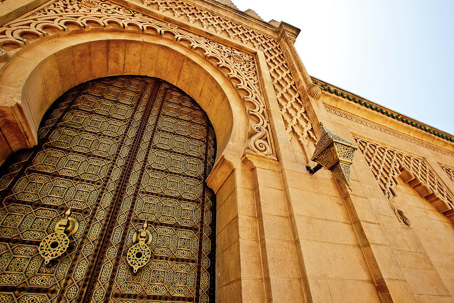 Mausoleum Of Mohammed V Photograph