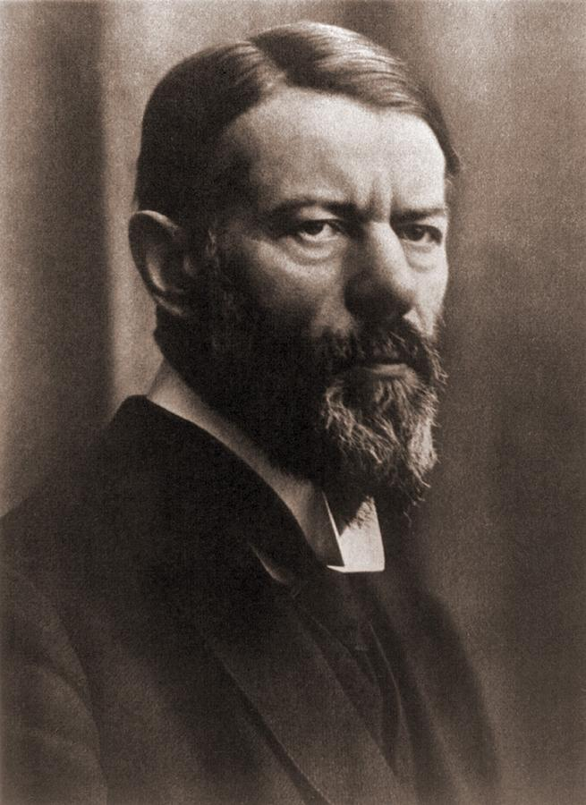 Max Weber 1864-1920, German Political Photograph  - Max Weber 1864-1920, German Political Fine Art Print