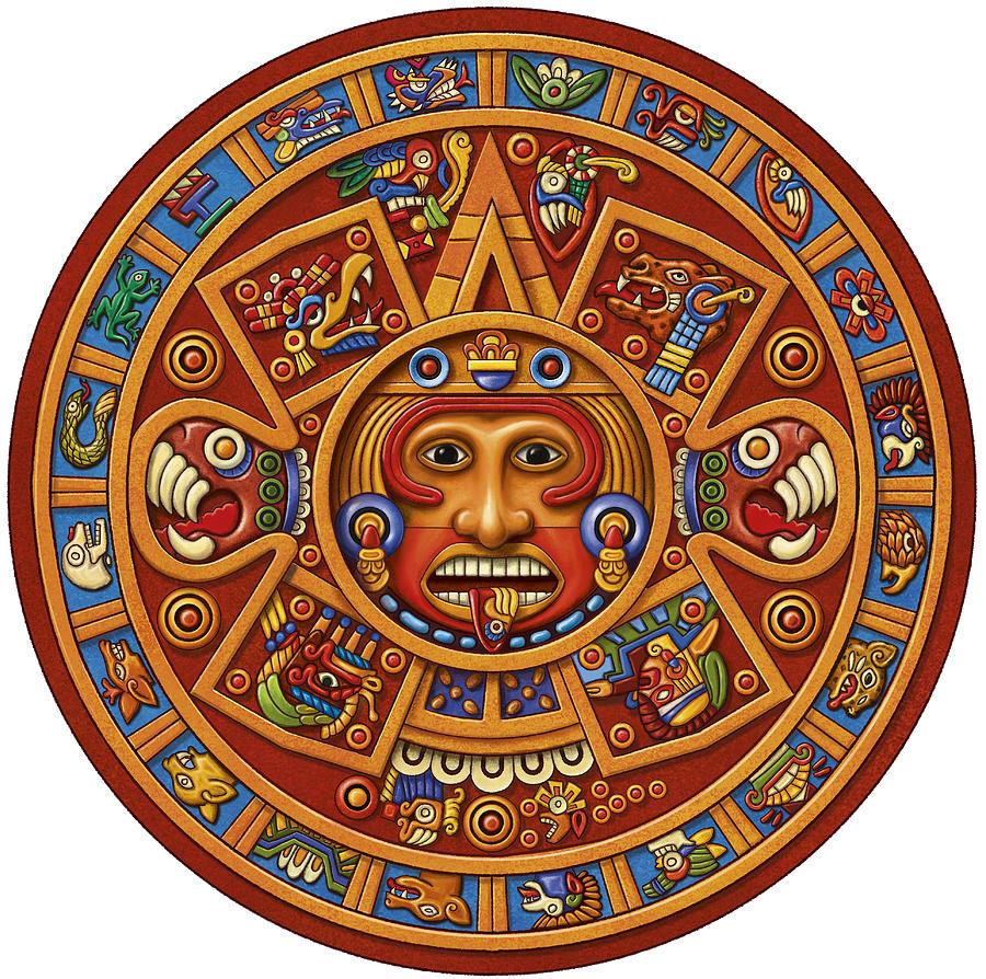 Mayan Calendar by Anne Wertheim