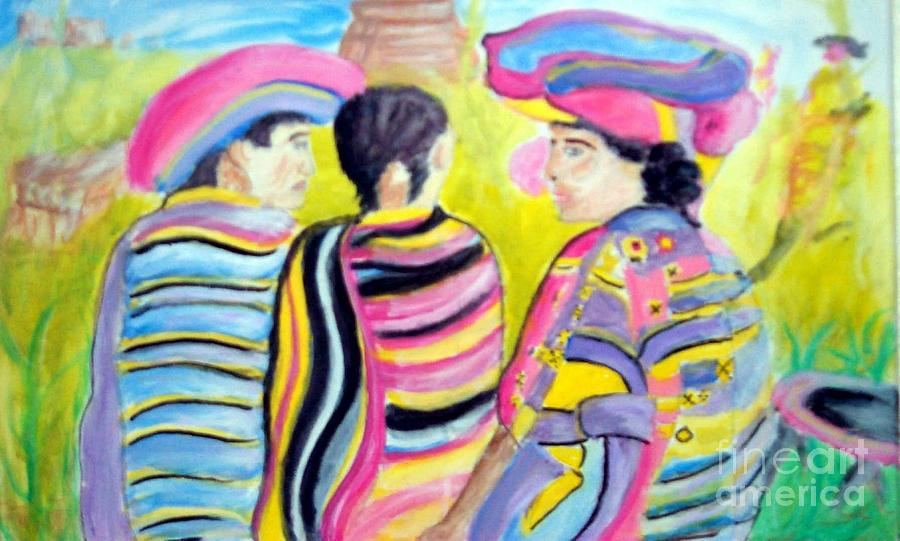 Mayan Indians Painting
