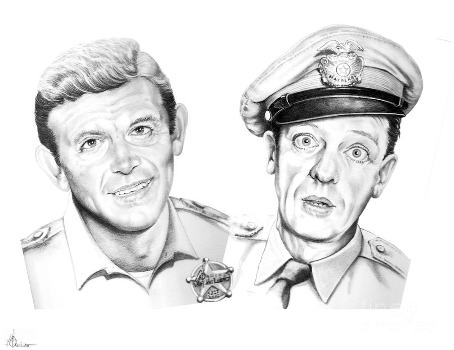 Mayberry Drawing  - Mayberry Fine Art Print