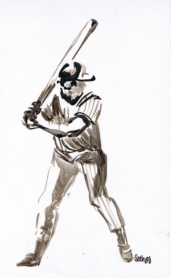 Mbl Batter Up Drawing