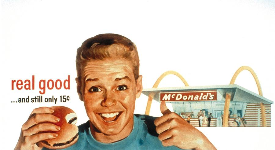 Mcdonalds Restaurant Advertisement Photograph