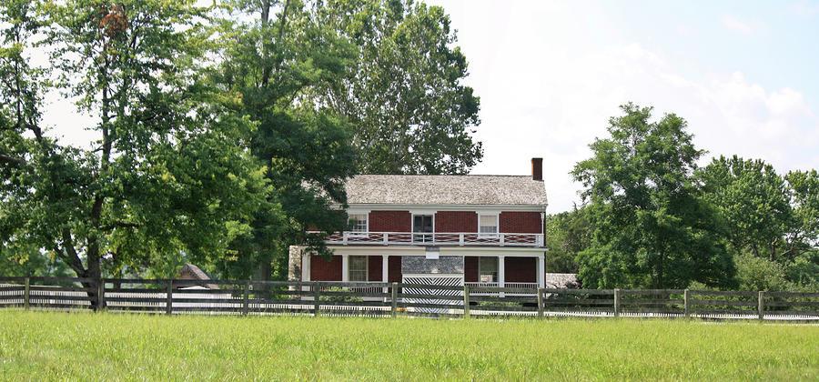 Mclean House Appomattox Court House Virginia Photograph