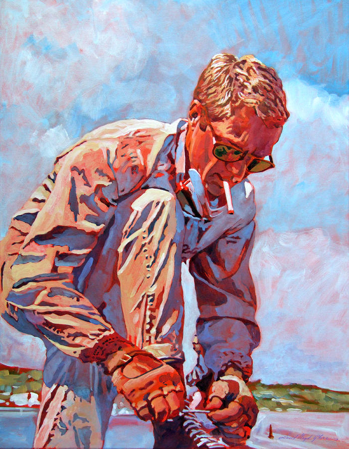 Mcqueen Cool - Steve Mcqueen Painting