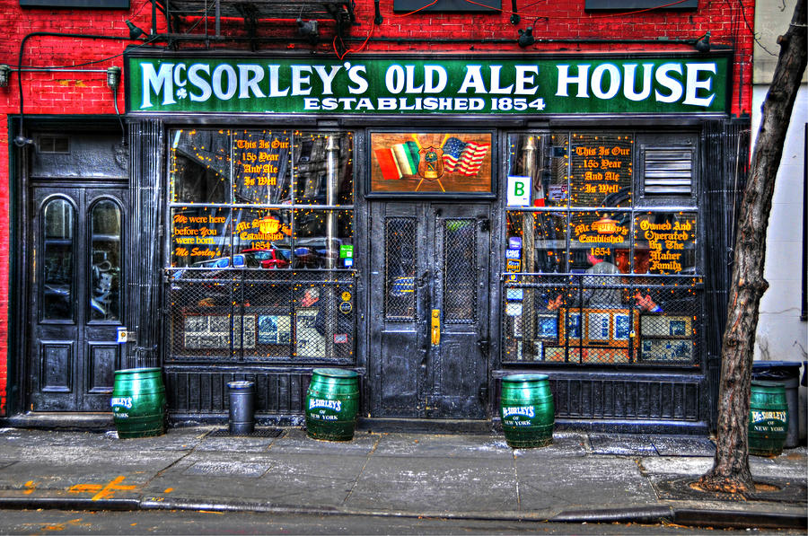 Mcsorleys  In Color Photograph