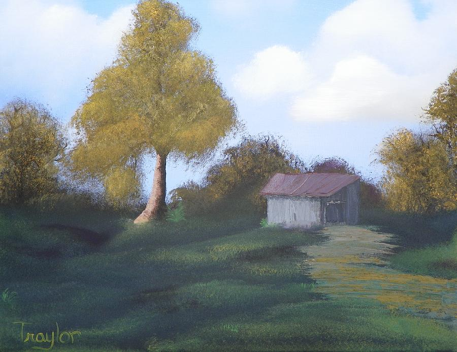 Meadows Edge Painting  - Meadows Edge Fine Art Print