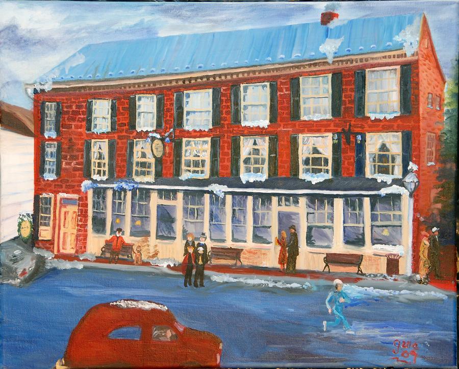 Mealeys Tavern Painting