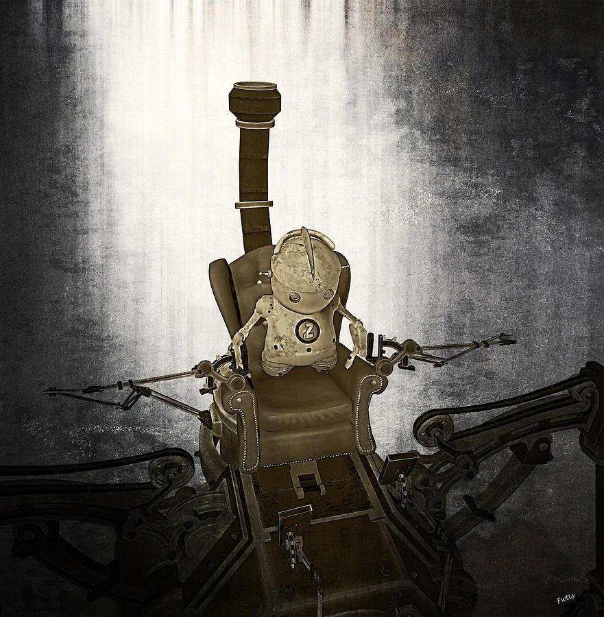 Mechanical Dreams Digital Art