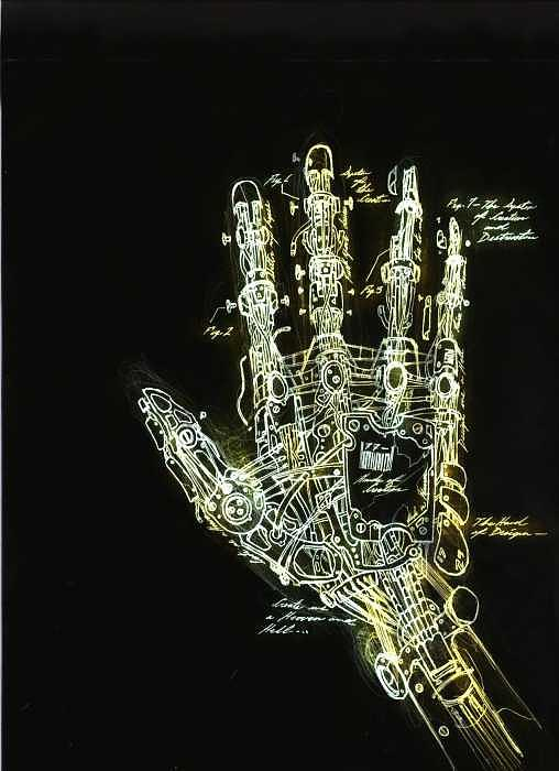 Mechanical hand art - photo#16
