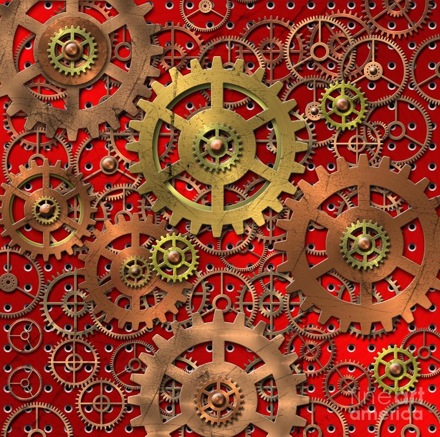 Mechanism Digital Art