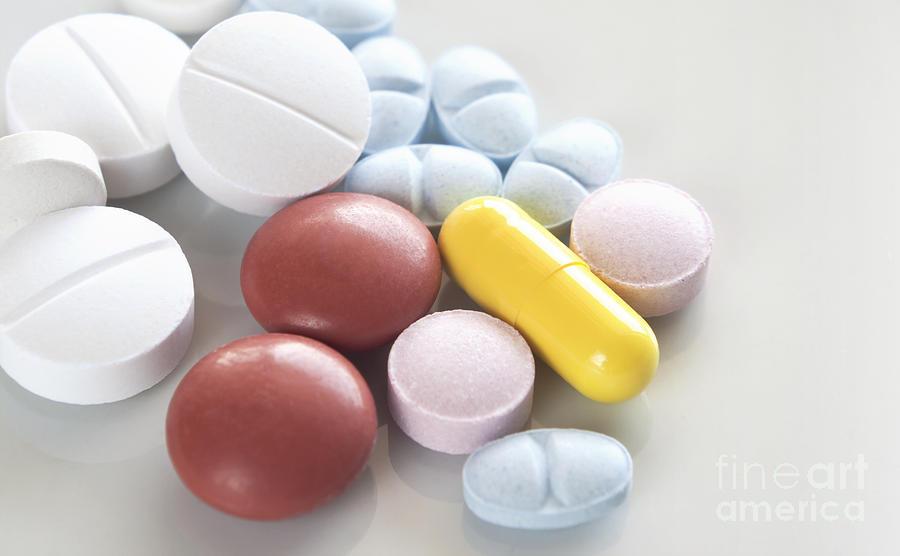 Medicinal Pills Photograph