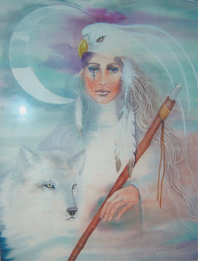 Medicine Woman Painting