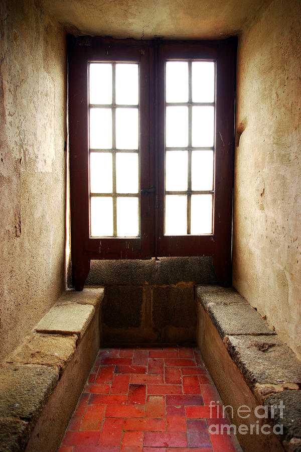Medieval Window Photograph  - Medieval Window Fine Art Print