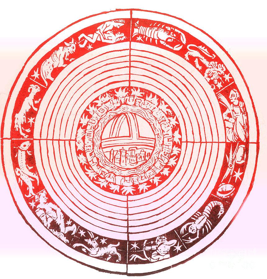 Medieval Zodiac Photograph