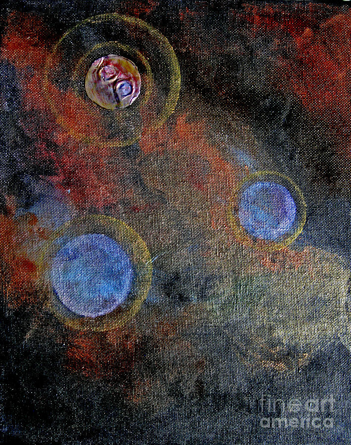 Meditation 4 Mixed Media  - Meditation 4 Fine Art Print