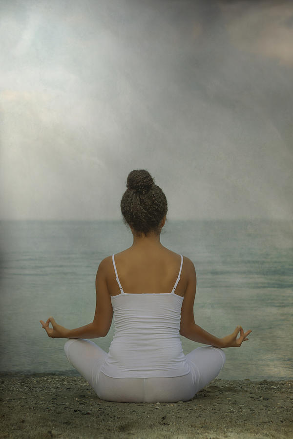Female Photograph - Meditation by Joana Kruse