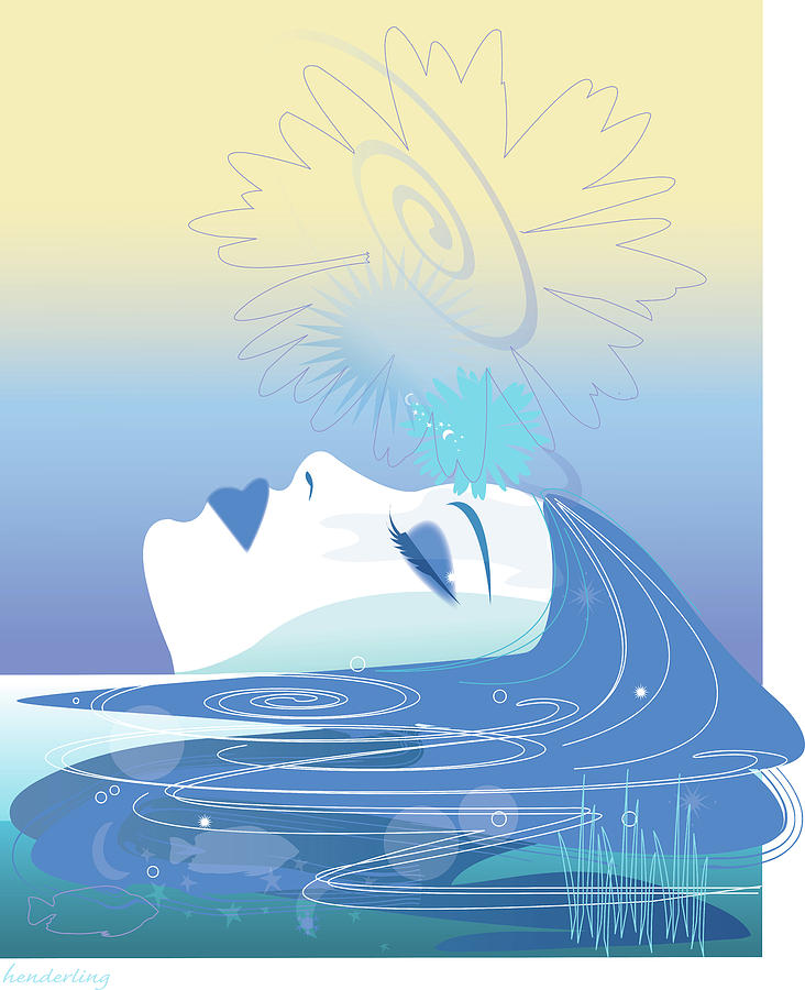 Meditation Digital Art
