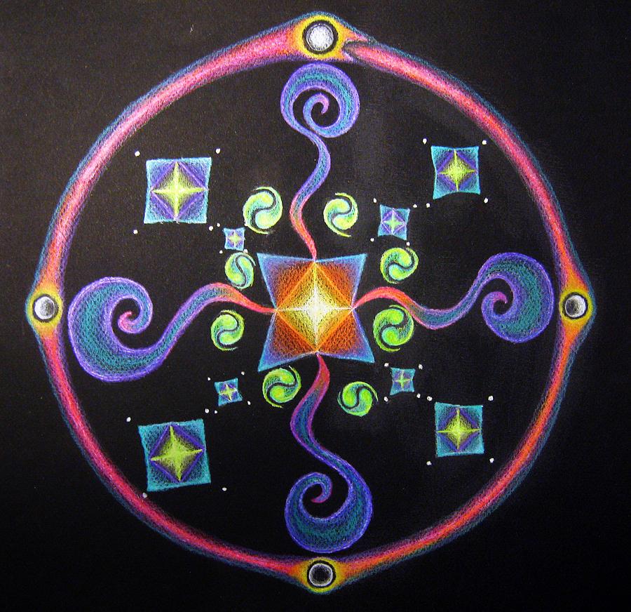 Meditation On Releasing  Pastel