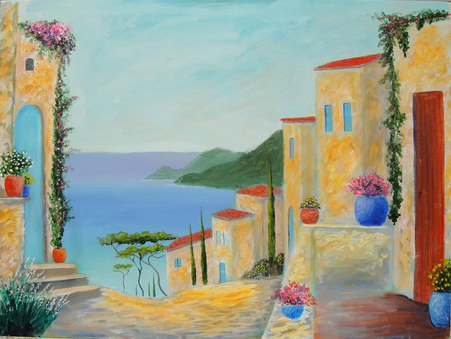 Mediterranean Haven Painting