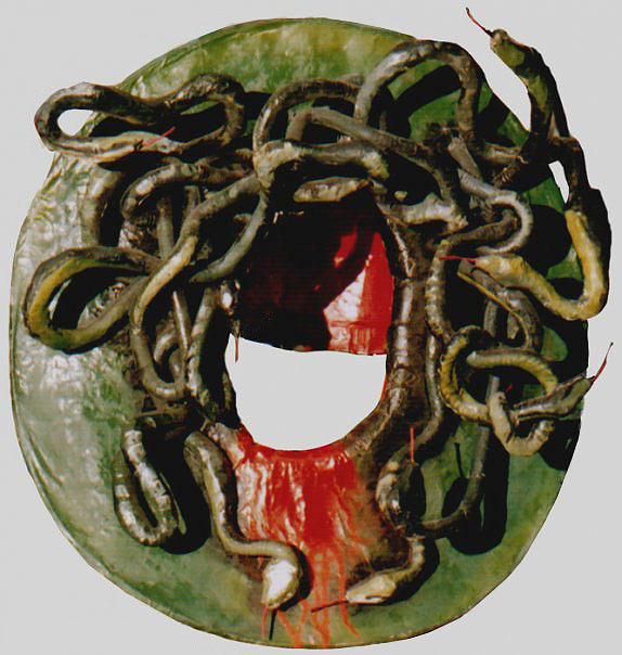 Medusa Mask Sculpture