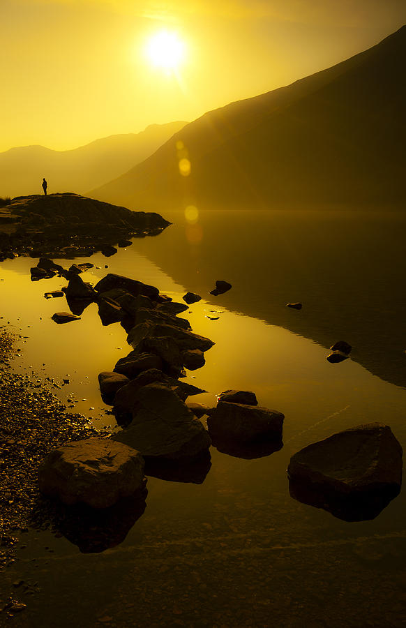 Bay Photograph - Meeting The Sun by Svetlana Sewell
