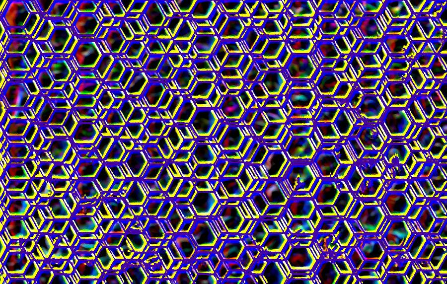 Mega Nano Structure Digital Art