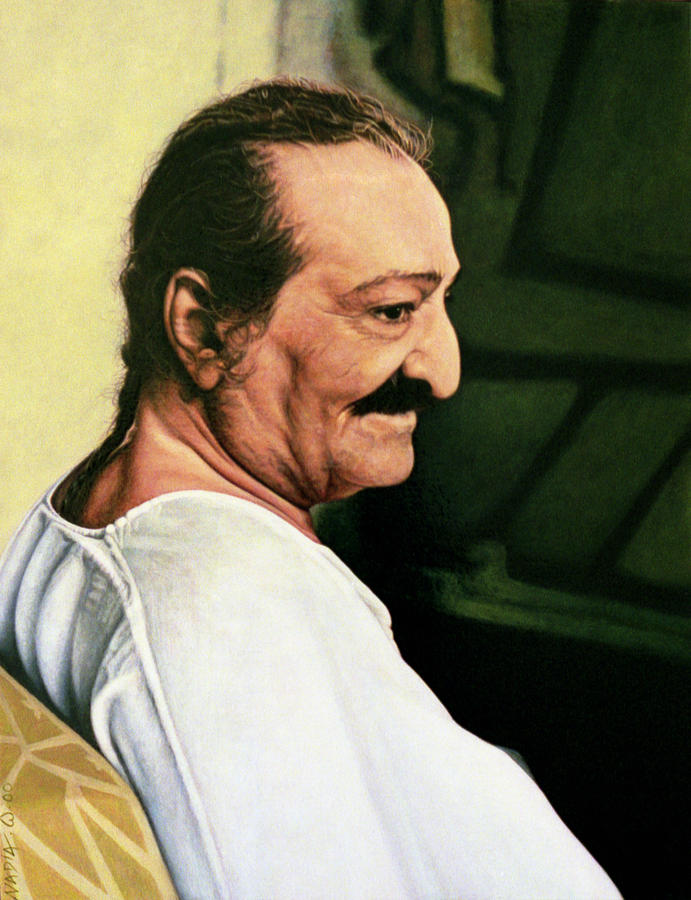 Meher Baba 3 Painting